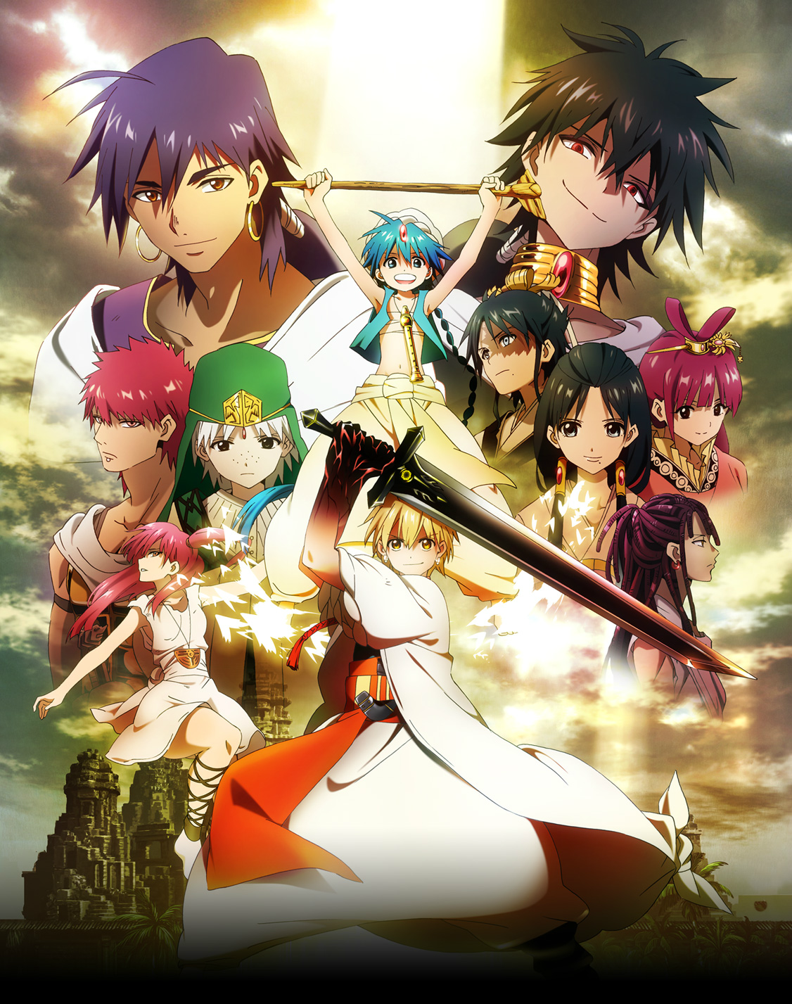 Magie Anime Serien