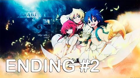 MAGI The Labyrinth of Magic Ending 2