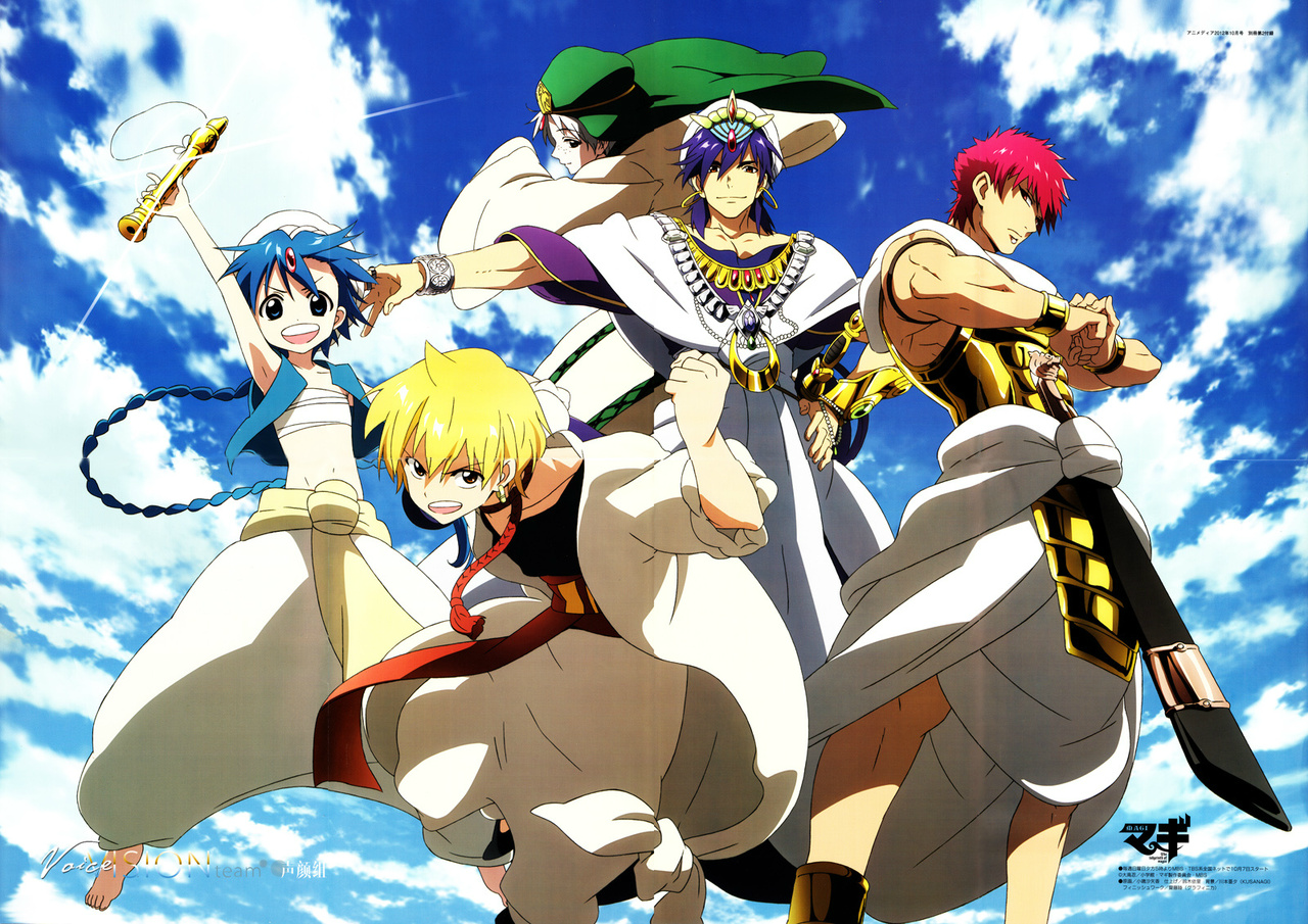 My Top 10 Favourite Magi Anime Characters - YouTube