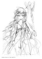 Scheherazade cover sketch
