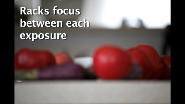 DOF and Focus stacking