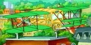First Airplane Bus