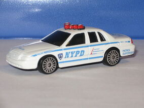 Maisto ford crown victoria NYPD