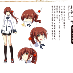 Kazuko in Anime design.