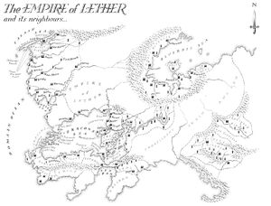 Map Empire of Lether
