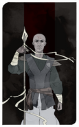 Knight of High House Shadow - Trull Sengar by Keezy Young
