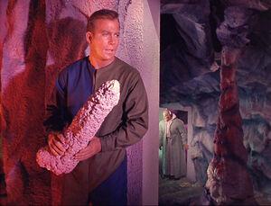 Kirk with dildo