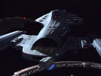 Voyager at DS9