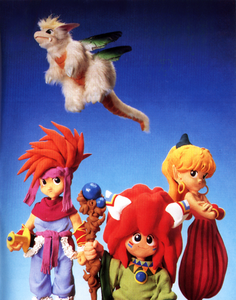 Mandala Secret of Mana Secret of Mana is The Boy