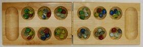Wooden Mancala board