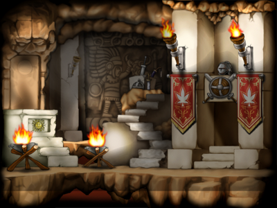 Map Warriors' Sanctuary