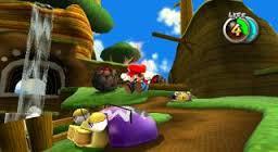 Mario ground pounding.
