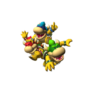 The three Koopa Kids from <i>Mario Party 5</i>.