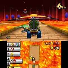 Bowser in GBA Bowser Castle 1