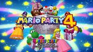 Title Screen - Mario Party 4