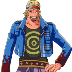 Paulie from the One Piece series is a pretty cool guy.