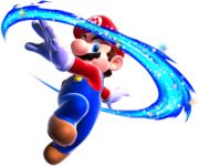 180px-Mario Spin Art - Super Mario Galaxy
