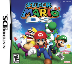 Super Mario 64 DS - North America Front Box