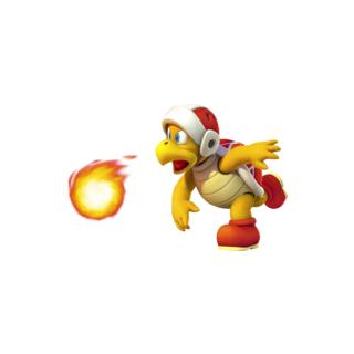 Hermano de Fuego en Super Paper Mario.