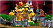 Giant Bowser in Super Mario Galaxy 2