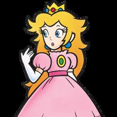 Princess Toadstool's artwork from <i>Super Mario Bros.</i>