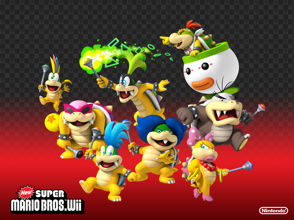 new super mario bros wii how to play as bowser