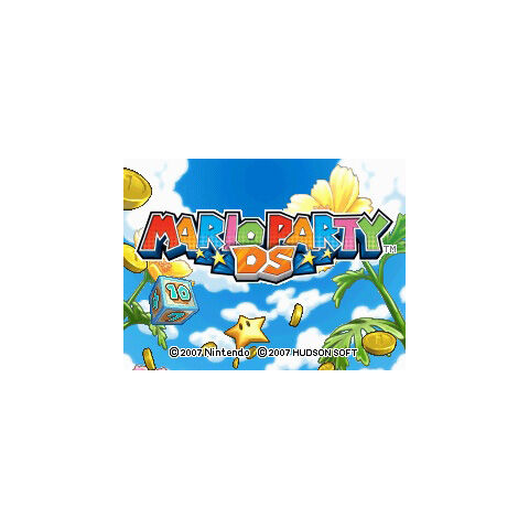 <i>Mario Party DS</i> title screen