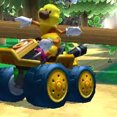 Wiggler racing through <a href=