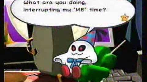 Paper Mario2 Battle Doopliss 1