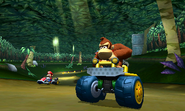 Donkey Kong - Racing against Mario - DK Jungle