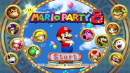 Title Screen - Mario Party 8