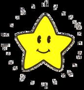Starman Artwork (Super Mario Bros.)