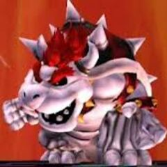 A modded Dry Bowser skin, in <i><a href=