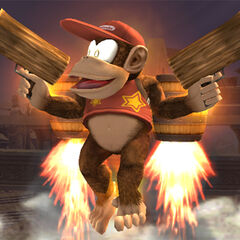 Diddy Kong in <i><a href=