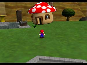 Paper Mario Cake Minigame
