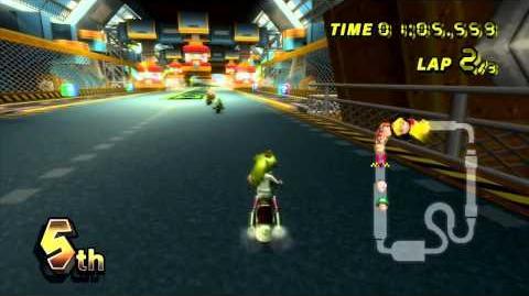 Mario Kart Wii (Wii) walkthrough - Toad's Factory
