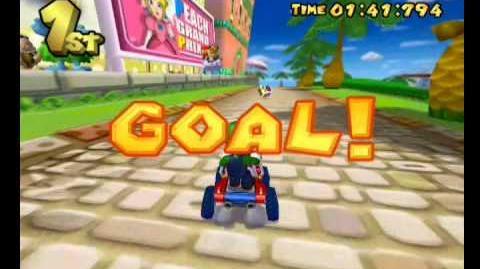 Mario Kart Double Dash!! walkthrough part 1 50cc Mushroom Cup