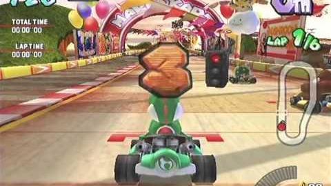 Mario Kart Arcade GP (Namco, 2005) Triforce