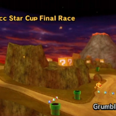 The course in <i>Mario Kart Wii</i>.