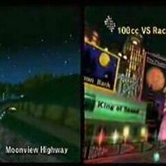 Wii Moonview Highway! Won to SNES Koopa Beach 2