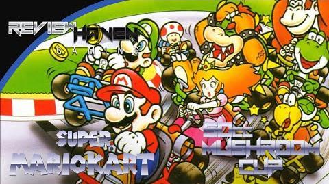 RetroHaven Super Mario Kart SNES 50cc Mushroom Cup