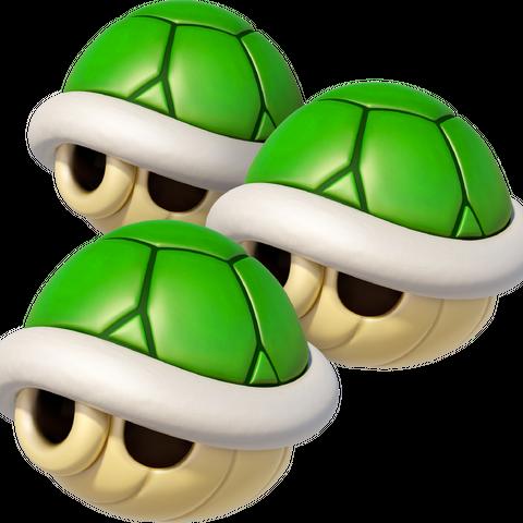 Triple Green Shells