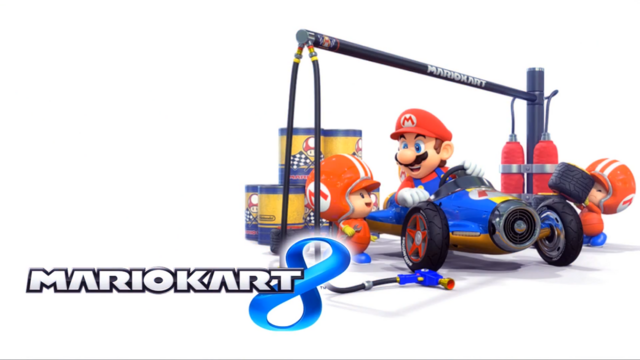 File:Mario Kart 8 Title Screen (Mario and Toad).png