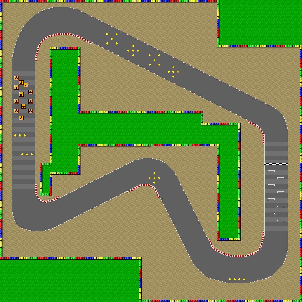 Mario Kart  Race Car Track