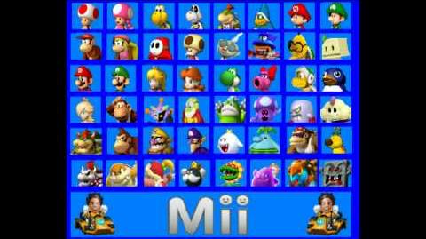 Video - Mario Kart 8 Custom Character Roster (New and ...
