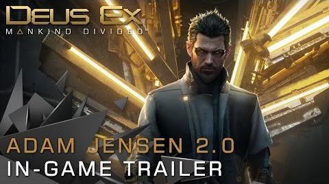 Deus Ex Mankind Divided - Adam Jensen 2.0 Trailer