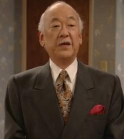 Pat Morita as Mr. Shimokawa