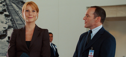 Pepper and Coulson