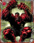 Enraged Father Red Hulk