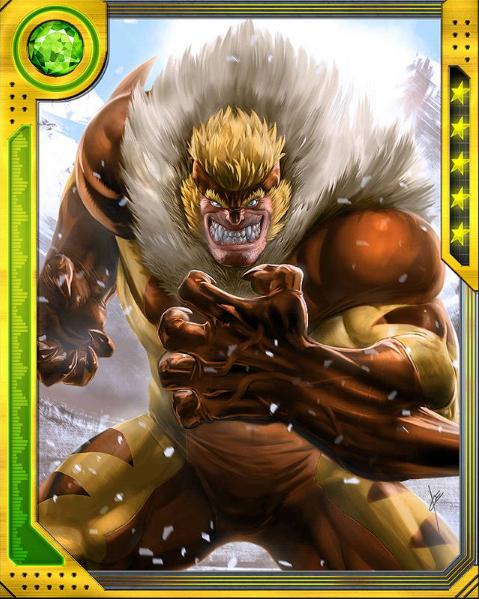 Ultimate Sabretooth Marvel